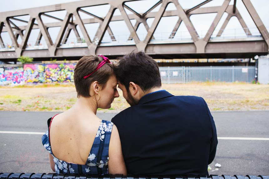 Urban wedding photographer