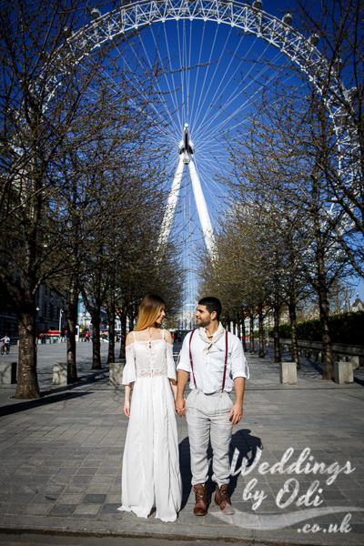 Couple Portraits London Landmarks